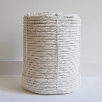 creadoodle basic collectie 10 mm gevlochten touw natural macrame, weven, regenbogen, verkocht per meter