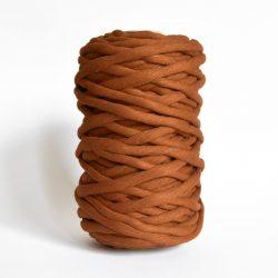 Creadoodle luxe collection katoen koord touw voor macrame weven en meer 9 en 12 mm chunky gerecycled katoen in caramel