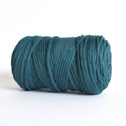 Creadoodle luxe collection katoen koord touw oekotex100 in 5 mm in deep sea voor macrame, weven, haken, breien, needel punch en meer