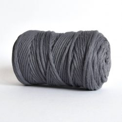 Creadoodle luxe collection katoen koord touw oekotex100 voor macrame, weven, haken, breien, needel punch en meer in 5 mm urban obsession