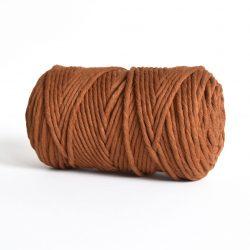 Creadoodle luxe collection katoen koord touw oekotex100 voor macrame, weven, haken, breien, needel punch en meer in 5 mm copper