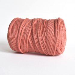 Creadoodle luxe collection katoen koord touw oekotex100 voor macrame, weven, haken, breien, needel punch en meer in 5 mm sunset