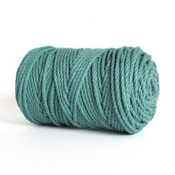 creadoodle lcreadoodle luxe rope 4 mm twisted 100% cotton katoen macrame touw sea greenuxe rope 4 mm twisted 100% cotton katoen macrame touw jade