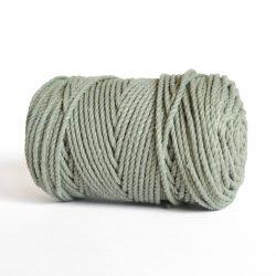 creadoodle luxe rope 4 mm twisted 100% cotton katoen macrame touw sage