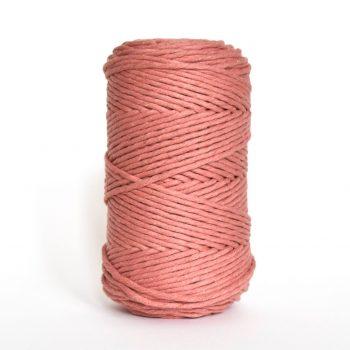 Creadoodle luxe collectie katoen koord touw oekotex100 voor macrame, weven, haken, breien, needle punch en meer in 3 mm sunset