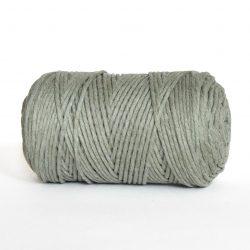 Creadoodle luxe collectie katoen koord touw oekotex100 voor macrame, weven, haken, breien, needle punch en meer in 3 mm sage