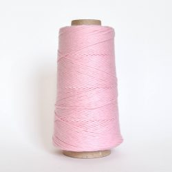 Creadoodle combed cotton collection 1 mm of the highest quality cotton for macrame, weaving, crochet, needle punch, embroidery, super kwaliteit katoen koord 30 colours available baby pink