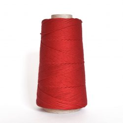 Creadoodle combed cotton collection 1 mm of the highest quality cotton for macrame, weaving, crochet, needle punch, embroidery, super kwaliteit katoen koord 30 colours available red elegance
