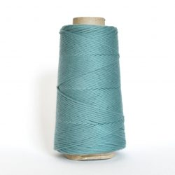 Creadoodle combed cotton collection 1 mm of the highest quality cotton for macrame, weaving, crochet, needle punch, embroidery, super kwaliteit katoen koord 30 colours available vintage blue