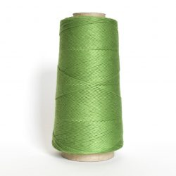 Creadoodle combed cotton collection 1 mm of the highest quality cotton for macrame, weaving, crochet, needle punch, embroidery, super kwaliteit katoen koord 30 colours available spring green