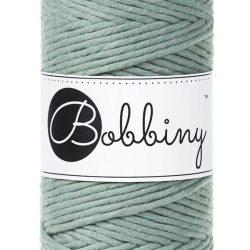Creadoodle bobbiny collectie voor macrame, weven, breien, haken , needle punch en meer 1-ply 3 mm laurel sage