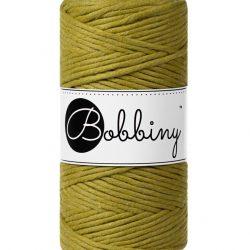 Creadoodle bobbiny collectie voor macrame, weven, breien, haken , needle punch en meer 1-ply 3 mm kiwi