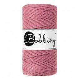 Creadoodle bobbiny collectie voor macrame, weven, breien, haken , needle punch en meer 1-ply 3 mm blossom