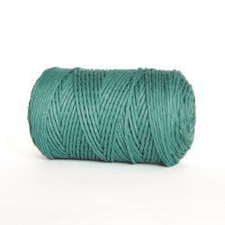 Creadoodle luxe collectie katoen koord touw oekotex100 voor macrame, weven, haken, breien, needle punch en meer in 3 mm sea green