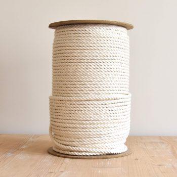 Creadoodle Giza egyptisch katoen touw voor macrame naturel wit ecru
